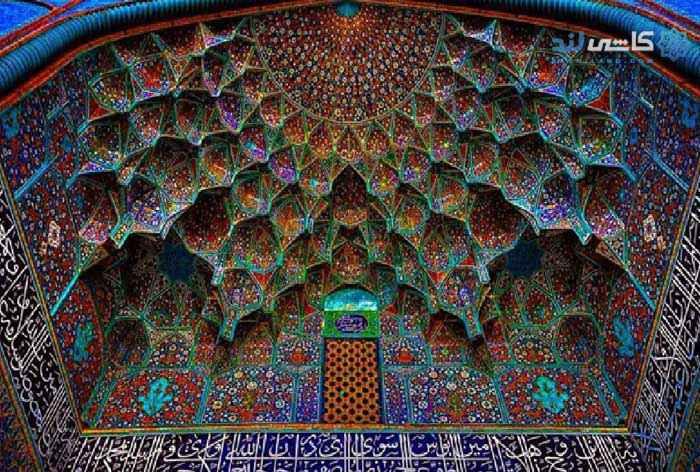 تاریخچه کاشی اصفهان
