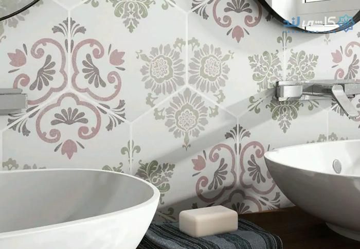 رنگ کاشی حمام