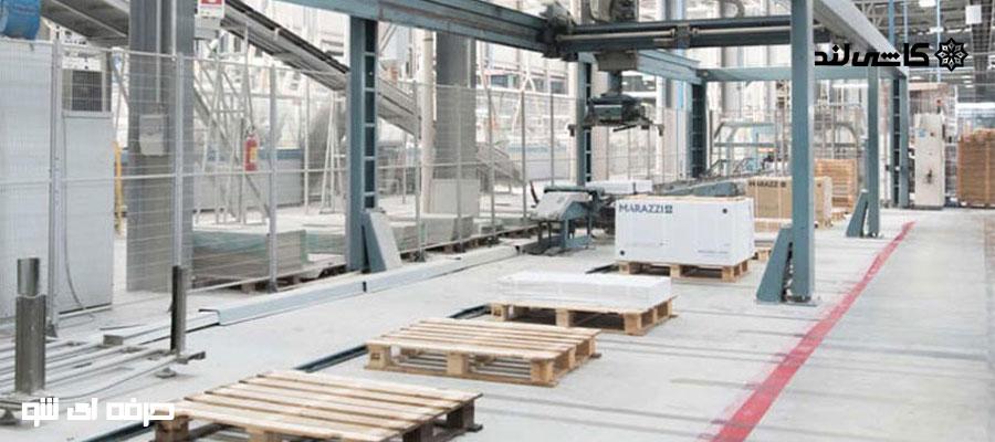 قطعات و ماشین آلات تولیدی کاشی و سرامیک