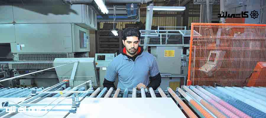 قطعات و ماشین آلات تولید کاشی