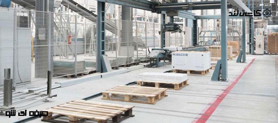 کارخانه های کاشی و سرامیک در یزد