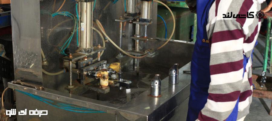 قطعات و ماشین آلات تولید شیرآلات بهداشتی