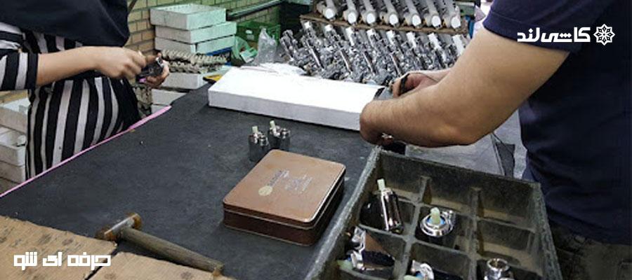 انواع دستگاه ماشین کاری قطعات تولید شده