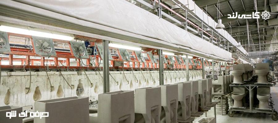 ماشین آلات خطوط چینی بهداشتی